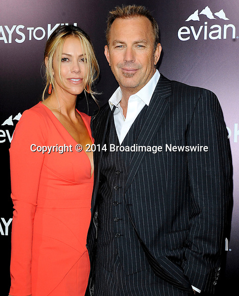 Pictured: Kevin Costner, Christine Baumgartner<br /> Mandatory Credit &copy; Adhemar Sburlati/Broadimage<br /> Film Premiere of 3 Days to Kill<br /> <br /> 2/12/14, Los Angeles, California, United States of America<br /> <br /> Broadimage Newswire<br /> Los Angeles 1+  (310) 301-1027<br /> New York      1+  (646) 827-9134<br /> sales@broadimage.com<br /> http://www.broadimage.com