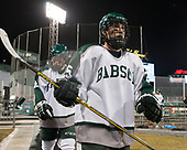 Bill Seligman (Babson - 25) - The UMass Boston Beacons defeated the Babson College Beavers 5-1 on Thursday, January 12, 2017, at Fenway Park in Boston, Massachusetts.