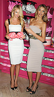 Candice Swanepoel & Bregje Heinen -  Victoria's Secret Angels launch - New York