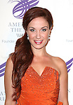 Sierra Boggess attending the The 2013 American Theatre Wing's Annual Gala honoring Harold Prince at the Plaza Hotel in New York City on September 16, 2013