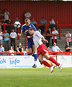 Steve Morison of Millwall and Scott Laird of Stevenage challenge for a header during the pre-season friendly match between Stevenage Borough &  Millwall at  the Lamex Stadium, Stevenage on 25th July, 2009..Photograph: Kevin Coleman .......................................................Alan Julian of GillinghamAlan Julian of Gillingham............................ during the Wembley Cup pre-season tournament between Barcelona and Al Ahly at Wembley Stadium, London on 26th July, 2009..Photograph: Kevin Coleman .......................................................Alan Julian of GillinghamAlan Julian of Gillingham............................