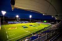 A general view of the stadium before the 2017 DHL Lions Series rugby union match between the NZ Provincial Barbarians and British & Irish Lions at Toll Stadium in Whangarei, New Zealand on Saturday, 3 June 2017. Photo: Dave Lintott / lintottphoto.co.nz