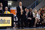 16 December 2014: Oregon State head coach Scott Rueck. The University of North Carolina Tar Heels hosted the Oregon State University Beavers at Carmichael Arena in Chapel Hill, North Carolina in a 2014-15 NCAA Division I Women's Basketball game. Oregon State won the game 70-55.