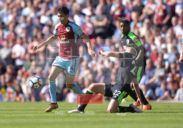13/05/2018 Premier League Burnley v AFC Bournemouth<br /> <br /> Jack Cork