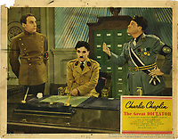 The Great Dictator (1940) <br /> Lobby card<br /> *Filmstill - Editorial Use Only*<br /> CAP/KFS<br /> Image supplied by Capital Pictures