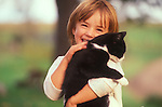 Cats with children