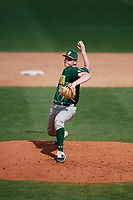 Siena Saints relief pitcher Nate Toms (36) during a game against the UCF Knights on February 17, 2019 at John Euliano Park in Orlando, Florida.  UCF defeated Siena 7-1.  (Mike Janes/Four Seam Images)