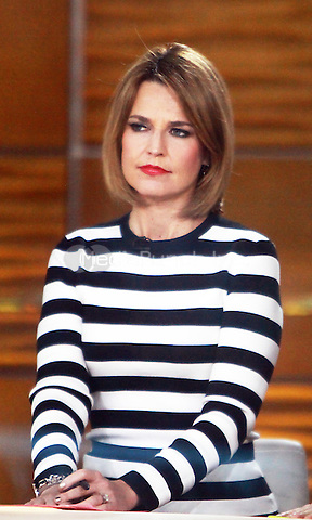 Jan. 21, 2014: Savannah Guthrie, host of the Today Show in New York City.Credit:RW/MediaPunch Inc.