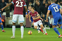 Mark Noble Of West Ham United during West Ham United vs Cardiff City, Premier League Football at The London Stadium on 4th December 2018