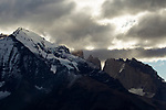 Mountains, Torres del Paine National Park, Patagonia, Chile