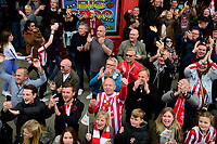 Lincoln City fans applaud the players during the Open Top Bus Parade through Lincoln<br /> <br /> Photographer Chris Vaughan/CameraSport<br /> <br /> The EFL Sky Bet League Two - Lincoln City - Champions Parade - Sunday 5th May 2019 - Lincoln<br /> <br /> World Copyright © 2019 CameraSport. All rights reserved. 43 Linden Ave. Countesthorpe. Leicester. England. LE8 5PG - Tel: +44 (0) 116 277 4147 - admin@camerasport.com - www.camerasport.com