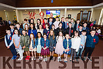 Pupils from  Abbeydorney NS after their confirmation in St Bernards Church, Abbeydorney by the Bishop of Kerry Ray Browne on Tuesday