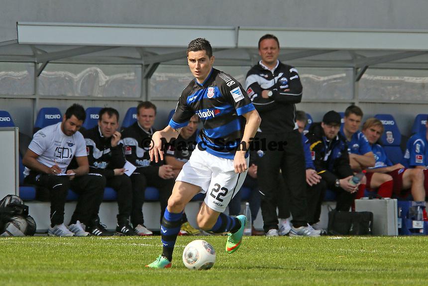 Odise Roshi (FSV) - FSV Frankfurt vs. SC Paderborn 07, Frankfurter Volksbank Stadion