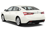 Rear three quarter view of a 2013 Toyota Avalon XLE