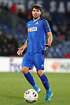 Getafe CF's Leandro Cabrera during UEFA Europa League match. December 12,2019. (ALTERPHOTOS/Acero)