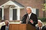 Thursday, May 31, Charlotte, North Carolina. Dedication ceremony for the new Billy Graham Library in Charlotte, North Carolina.. The reverend  Billy Graham.