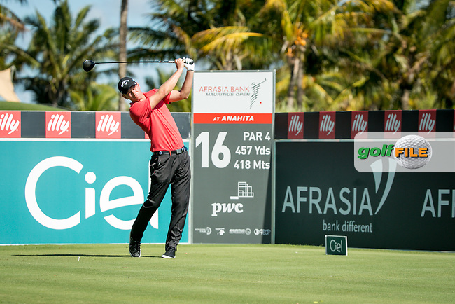 Marcel Siem (GER) during the 1st round of the AfrAsia Bank Mauritius Open, Four Seasons Golf Club Mauritius at Anahita, Beau Champ, Mauritius. 29/11/2018<br /> Picture: Golffile | Mark Sampson<br /> <br /> <br /> All photo usage must carry mandatory copyright credit (© Golffile | Mark Sampson)