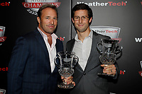 IMSA WeatherTech SportsCar Championship<br /> Night of Champions<br /> Road Atlanta, Braselton GA<br /> Monday 9 October 2017<br /> Bill Auberlin, Alexander Sims<br /> World Copyright: Michael L. Levitt<br /> LAT Images