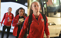 New Orleans, LA - Thursday October 19, 2017: Becky Sauerbrunn during an International friendly match between the Women's National teams of the United States (USA) and South Korea (KOR) at Mercedes Benz Superdome.