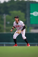 Richmond Flying Squirrels third baseman Jonah Arenado (26) during an Eastern League game against the Binghamton Rumble Ponies on May 29, 2019 at The Diamond in Richmond, Virginia.  Binghamton defeated Richmond 9-5 in ten innings.  (Mike Janes/Four Seam Images)