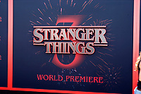 "LOS ANGELES - JUN 28:  Stranger Things, General Atmosphere at the ""Stranger Things"" Season 3 World Premiere at the Santa Monica High School on June 28, 2019 in Santa Monica, CA"