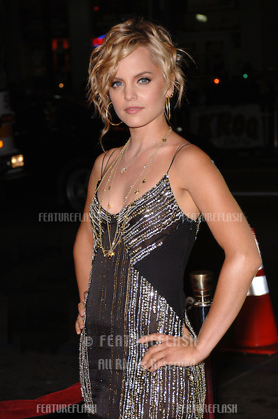 Actress MENA SUVARI at the Los Angeles premiere of her new movie Domino. .October 11, 2005 Los Angeles, CA..© 2005 Paul Smith / Featureflash