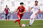 Nguyen Cong Phuong of Vietnam (L) in action during the AFC Asian Cup UAE 2019 Group D match between Vietnam (VIE) and I.R. Iran (IRN) at Al Nahyan Stadium on 12 January 2019 in Abu Dhabi, United Arab Emirates. Photo by Marcio Rodrigo Machado / Power Sport Images