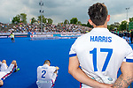 Krefeld, Germany, May 19: During the Final4 Gold Medal fieldhockey match between Uhlenhorst Muelheim and Mannheimer HC on May 19, 2019 at Gerd-Wellen Hockeyanlage in Krefeld, Germany. (worldsportpics Copyright Dirk Markgraf) *** Patrick Harris #17 of Mannheimer HC
