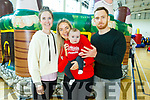Ailís McGullicuddy, Kieran McCabe, Ashling Murphy with baby Padraig Óg Murphy and Kieran McCabe enjoying the fun day at John Mitchels for Inspired on Sunday