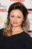 """Emily Atack arives for the """"Almost Married"""" Gala Screening at the Mayfair Hotel, London. 26/03/2014 Picture by: Steve Vas / Featureflash"""