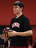Steve McClelland of Plainedge gets ready to roll during the Nassau County varsity boys bowling individual championship and state qualifier at AMF Garden City Lanes on Saturday, Feb. 10, 2018.