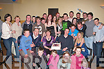 Michael Buckley Castlemaine (seated second from right) who celebrated his 21st birthday with his family and friends in the Castle Inn, Castlemaine on Friday night        Copyright Kerry's Eye 2008