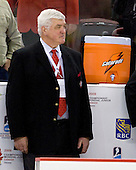 Pat Quinn (Canada - Head Coach) - Team Canada defeated the Czech Republic 8-1 on the evening of Friday, December 26, 2008, at Scotiabank Place in Kanata (Ottawa), Ontario during the 2009 World Juniors U20 Championship.