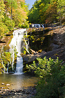Bald River Falls located in the Cherokee National Forest, Tennessee