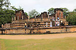 Vatadage building, The Quadrangle, UNESCO World Heritage Site, the ancient city of Polonnaruwa, Sri Lanka, Asia