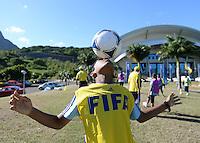 Fussball 63. FIFA Kongress auf Mauritius 2013    28.05.2013 FIFA Grassroots Programm - Aktionstag im Vorfeld des FIFA Kongress auf Mauritius 2013