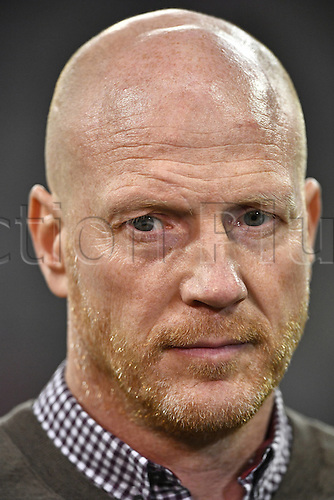 05.04.2016. Munich, Germany.  attends the game between Bayern Munchen FCB and Benfica Lisbon. Sporting Director  Matthias Sammer FC Bayern Munchen attends the game between Bayern Munchen FCB and Benfica Lisbon. UEFA Champions League quarterfinal in the Allianz Arena