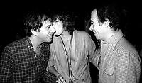 1978 <br /> New York City<br /> Steve Rubell Ali McGraw David Geffen at Studio 54<br /> CAP/MPI/PHI<br /> &copy;MPI67/Capital Pictures