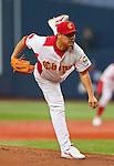 Bu Tao (CHN), .February 27, 2013 - WBC : .2013 World Baseball Classic, Exhibithion Game .match between China 1-8 ORIX Buffaloes .at Kyocera Dome, Osaka, Japan..(Photo by AJPS/AFLO SPORT)