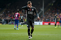 3rd November 2019; Selhurst Park, London, England; English Premier League Football, Crystal Palace versus Leicester City; James Maddison of Leicester City - Strictly Editorial Use Only. No use with unauthorized audio, video, data, fixture lists, club/league logos or 'live' services. Online in-match use limited to 120 images, no video emulation. No use in betting, games or single club/league/player publications