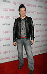 "HOLLYWOOD, CA. - August 03: Hal Sparks arrives at the Los Angeles premiere of ""Spread"" at the ArcLight Hollywood on August 3, 2009 in Hollywood, California."