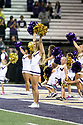 SEATTLE, WA - September 07:  Washington cheer member Danielle McGinnis entertained fans during the college football game between the Washington Huskies and the California Bears on September 07, 2019 at Husky Stadium in Seattle, WA. Jesse Beals / www.Olympicphotogroup.com