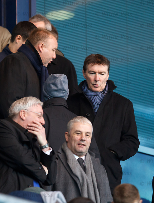 Rangers director of football Gordon Smith in the stand to check out potential signing targets