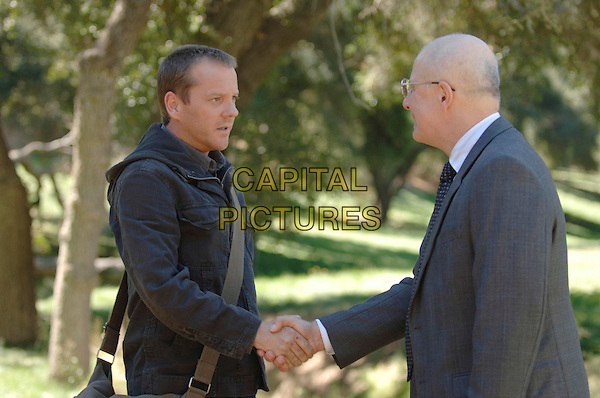 "KIEFER SUTHERLAND & JUDE CICCOLELLA.in 24  (Season 5).""Day 5: 12:00 PM-1:00 PM? .*Editorial Use Only*.www.capitalpictures.com.sales@capitalpictures.com.Supplied by Capital Pictures."