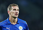 Leicester's Marc Albrighton in action during the Champions League group B match at the King Power Stadium, Leicester. Picture date November 22nd, 2016 Pic David Klein/Sportimage
