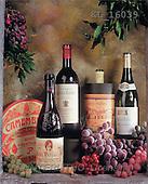 Interlitho, Alberto, STILL LIFES, photos, wine, cheese, grapes(KL16039,#I#) Stilleben, naturaleza muerta