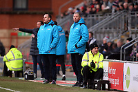 Spartans manager Alun Armstrong during Leyton Orient vs Blyth Spartans, Buildbase FA Trophy Football at The Breyer Group Stadium on 2nd February 2019