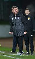 12th February 2020; McDairmid Park, Perth, Perth and Kinross, Scotland; Scottish Premiership Football, St Johnstone versus Motherwell; Motherwell manager Stephen Robinson