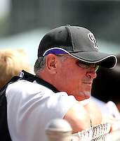 Clint Hurdle / Colorado Rockies 2008 Instructional League..Photo by:  Bill Mitchell/Four Seam Images