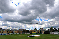 Dark clouds over the ground as lunch is taken during Essex CCC vs Hampshire CCC, Specsavers County Championship Division 1 Cricket at The Cloudfm County Ground on 20th May 2017